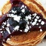 Razzleberry Jam on Pancakes