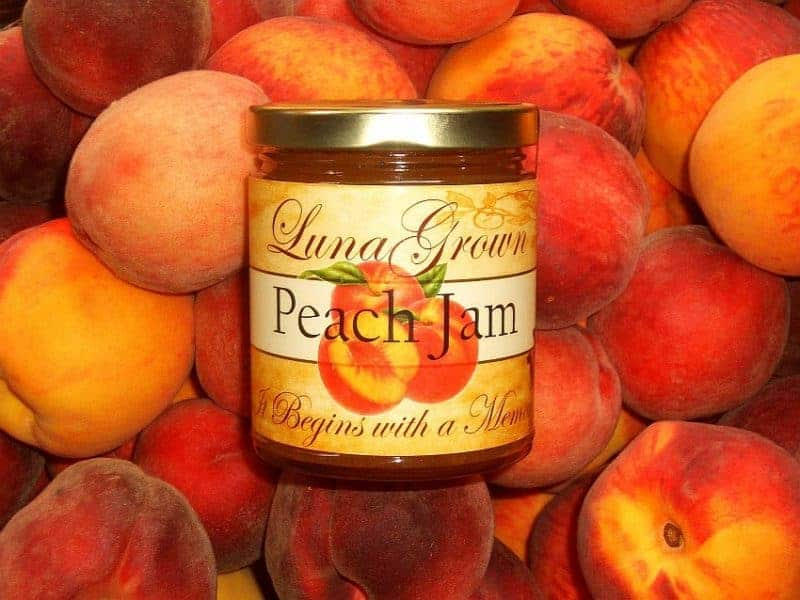 LunaGrown Creamy Peach Jam Wholesale 1