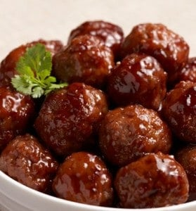 Meatballs with Grape Jelly