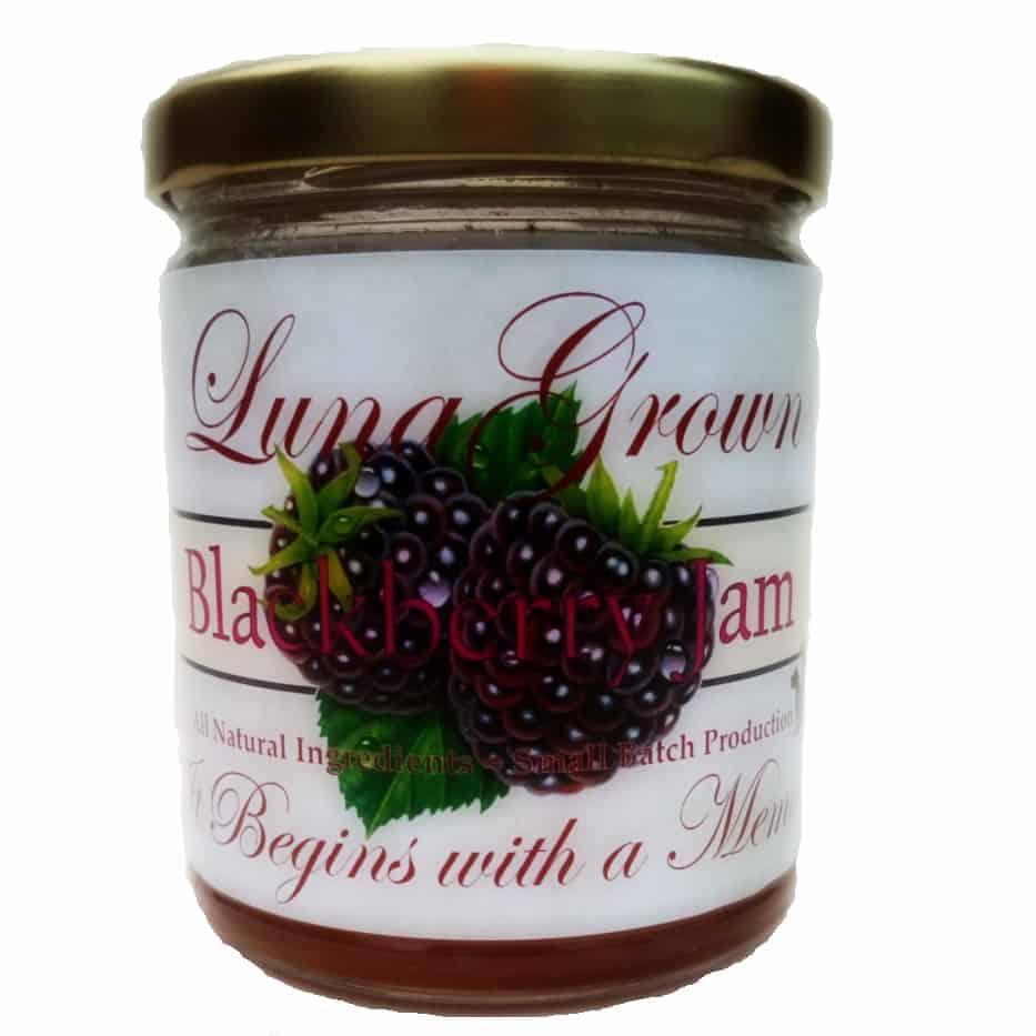 LunaGrown Blackberry Jam