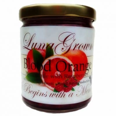 LunaGrown Blood Orange Marmalade