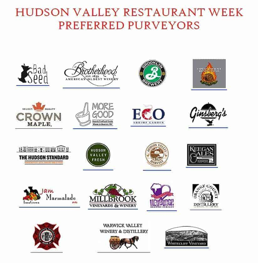 Hudson Valley Restaurant Week Fall 2015