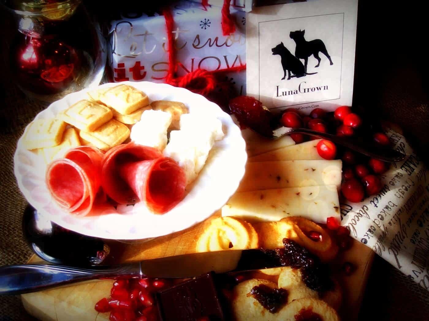 Holiday Food Wtih LunaGrown