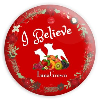LunaGrown Holiday Button 2020