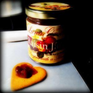 Raisin Jam and Gingersnap