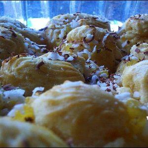 LunaGrown Jam Filled Cream Puffs, cream puffs, easy cream puffs, jam cream, cream puff recipe, delicious jam, Hudson Valley, pineapple, pineapple jam