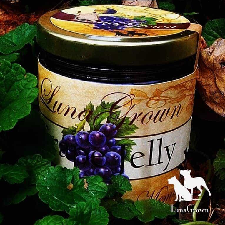 LunaGrown Grape Jelly