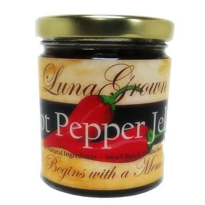 LunaGrown Hot Pepper Jam