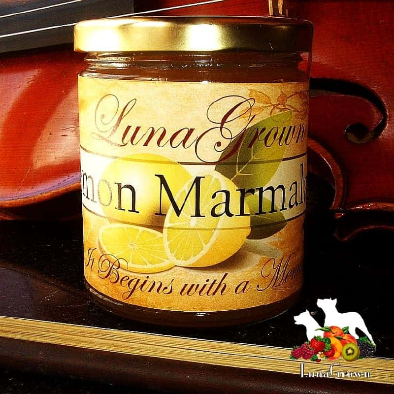 LunaGrown Lemon Marmalade
