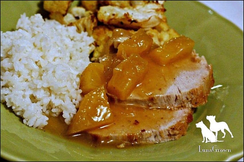 LunaGrown Pineapple Pork Roast, pork roast, using jam, roast with jam, LunaGrown, Hudson Valley, cooking with jam