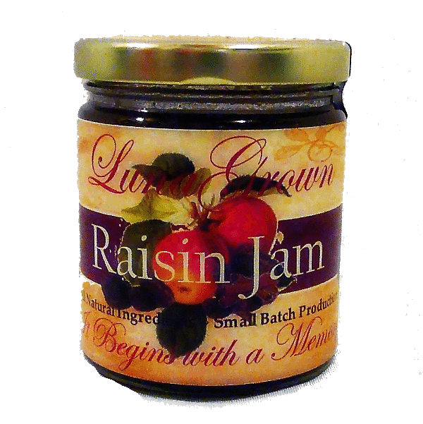 LunaGrown Raisin Jam