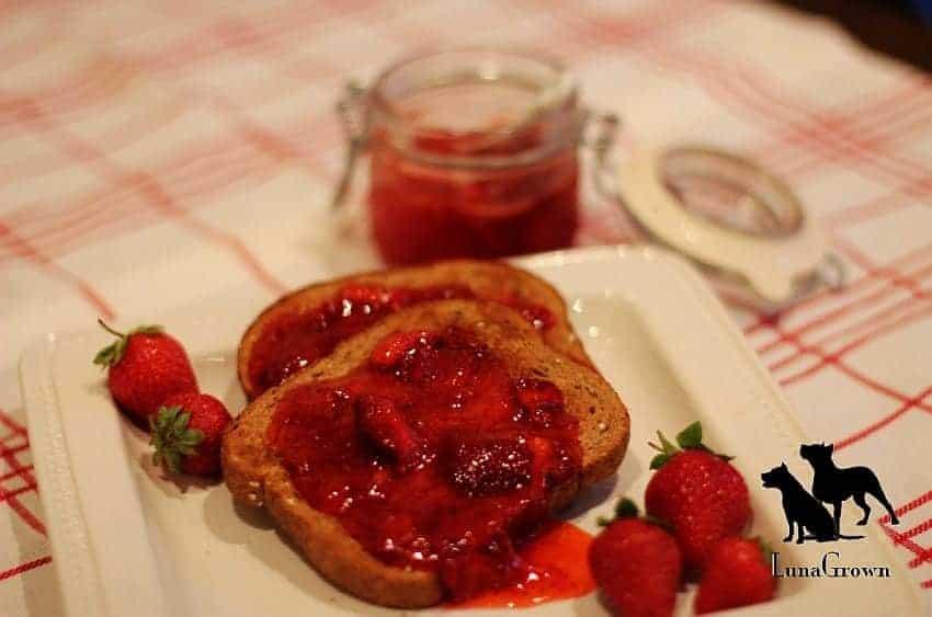 LunaGrown Strawberry Jam & Toast