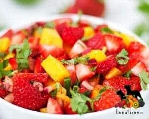LunaGrown Strawberry Mango Salsa