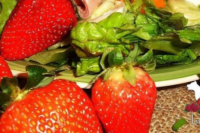 Enhancing Your Salad with Strawberry Vinaigrette