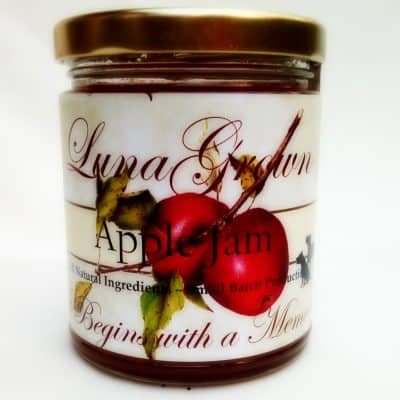 Lunagrown apple jam 2018
