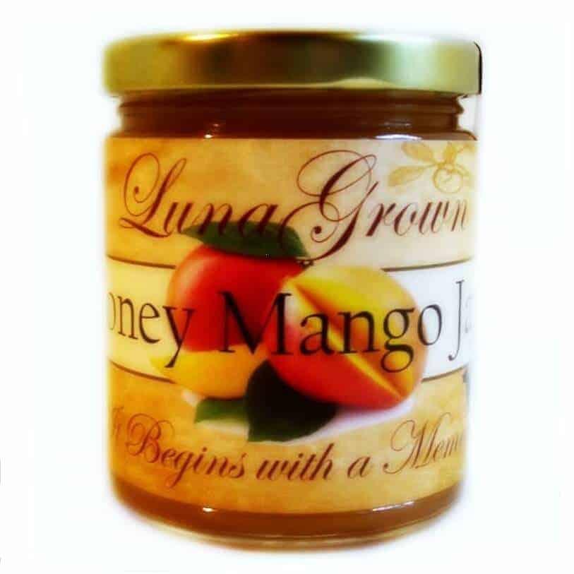 LunaGrown Mango Jam