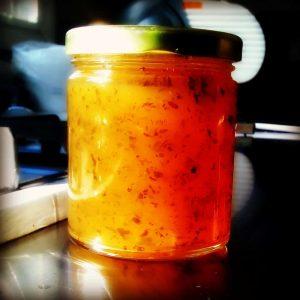 Mint Jelly Jar