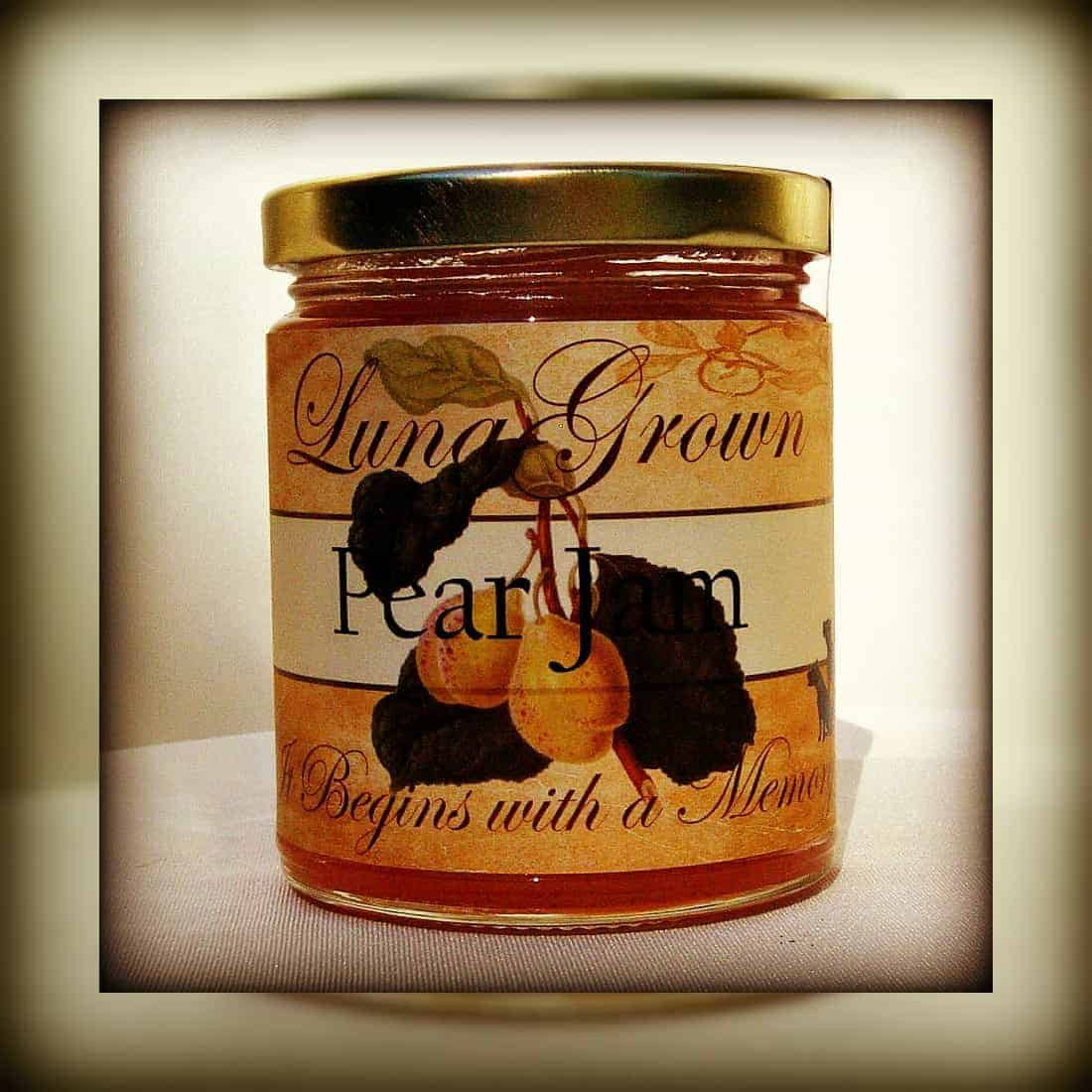 LunaGrown Vanilla Pear Jam