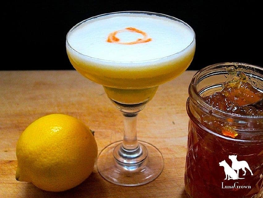 LunaGrown Pineapple Jam Daiquiri