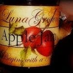 LunaGrown apple jam holidays