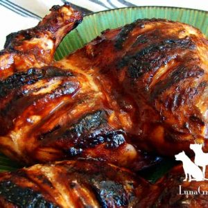 LunaGrown BBQ with Apricot Jam