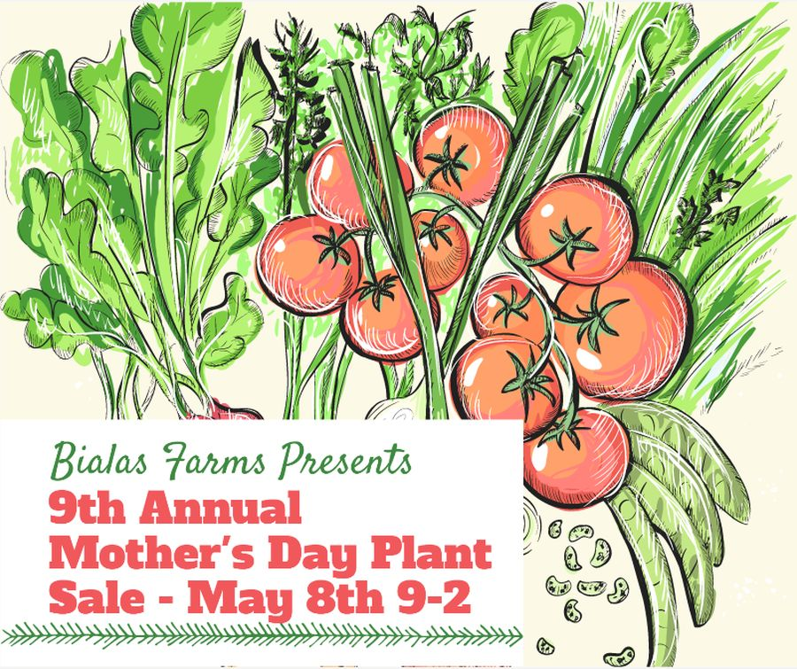 Bialas Farms Mother's Day Plant Sale