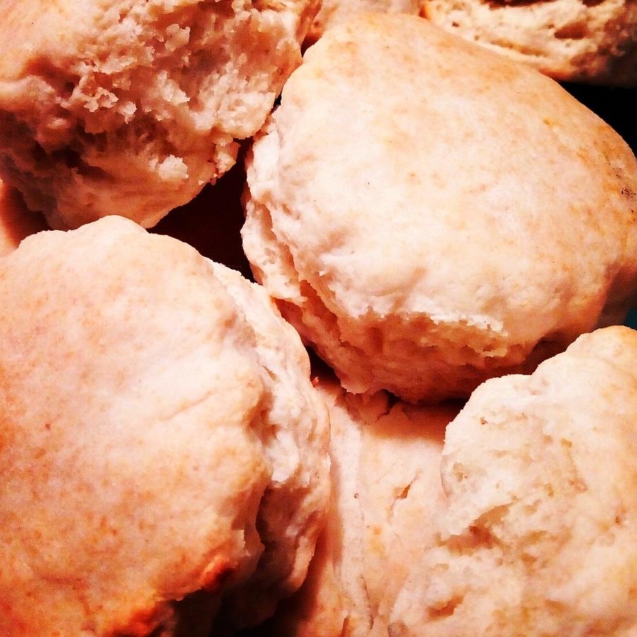 Buttermilk Biscuits, LunaGrown Style