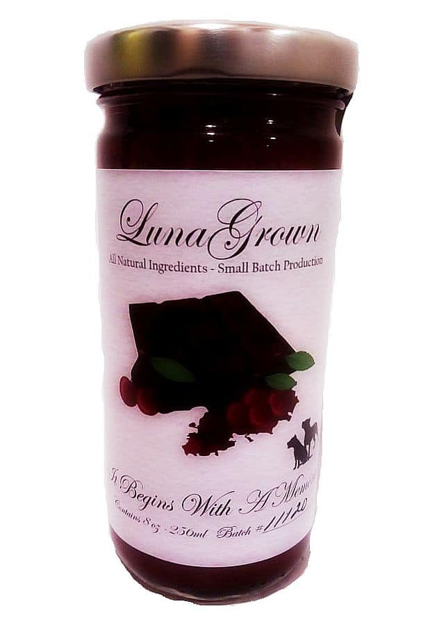 black forest jam lunagrown