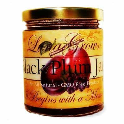 LunaGrown Black Plum Jam
