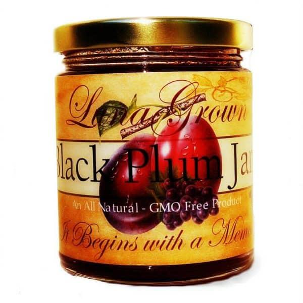 LunaGrown Essential Black Plum Jam