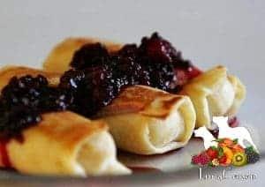 blackberry blintz