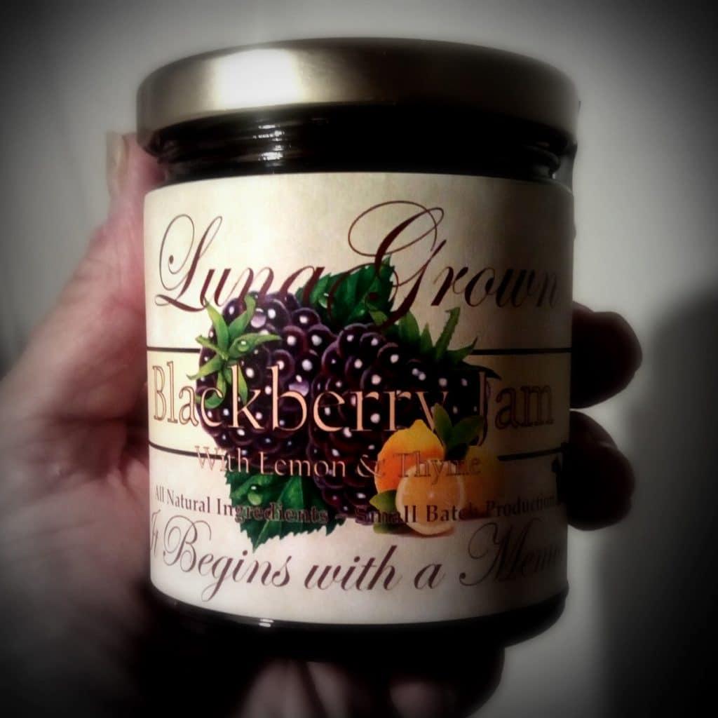 New in 2019 Blackberry Lemon with Thyme Jam