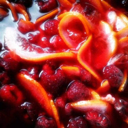 LunaGrown Blood Orange and Raspberry