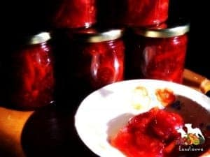 Blood orange marmalade from LunaGrown
