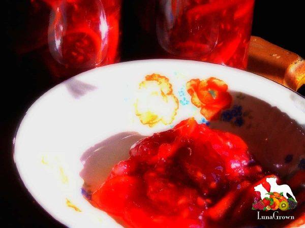 Blood orange marmalade from LunaGrown