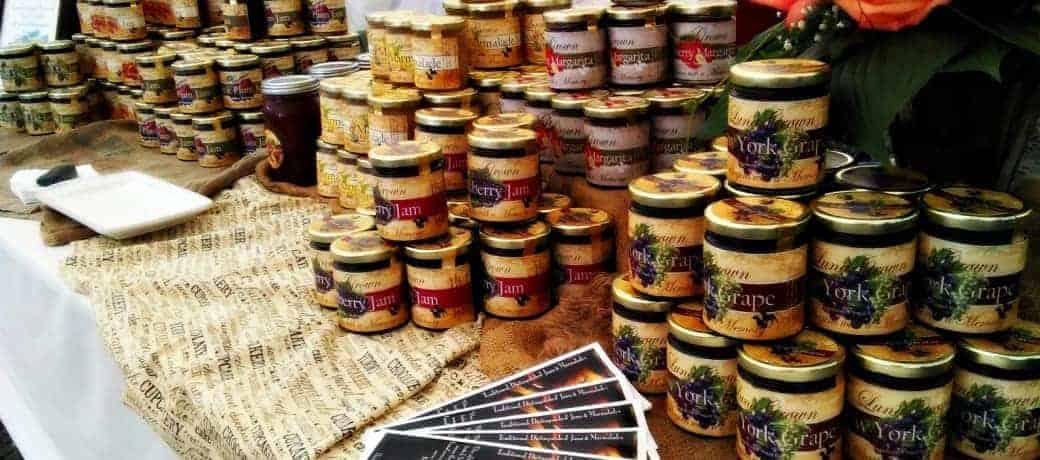 LunaGrown Jars milford Farmers