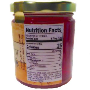 LunaGrown Candy Apple Jelly Nutrition
