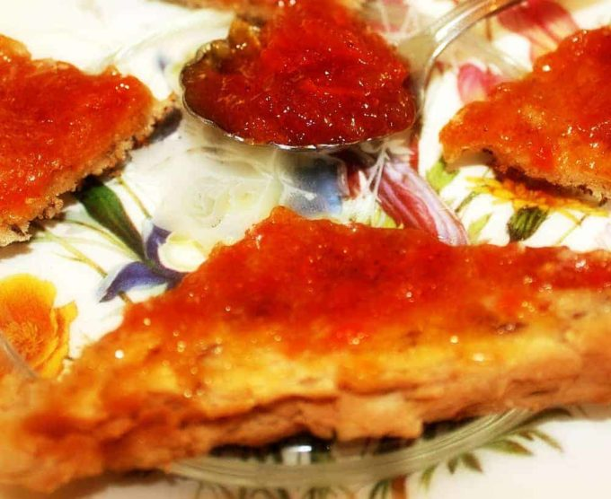 carrot cake jam bread