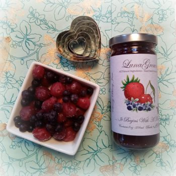 Cherry Berry Jam from LunaGrown