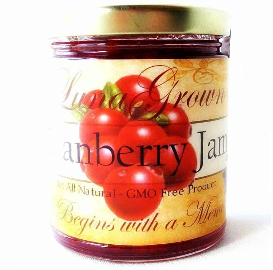 LunaGrown Cranberry Jam