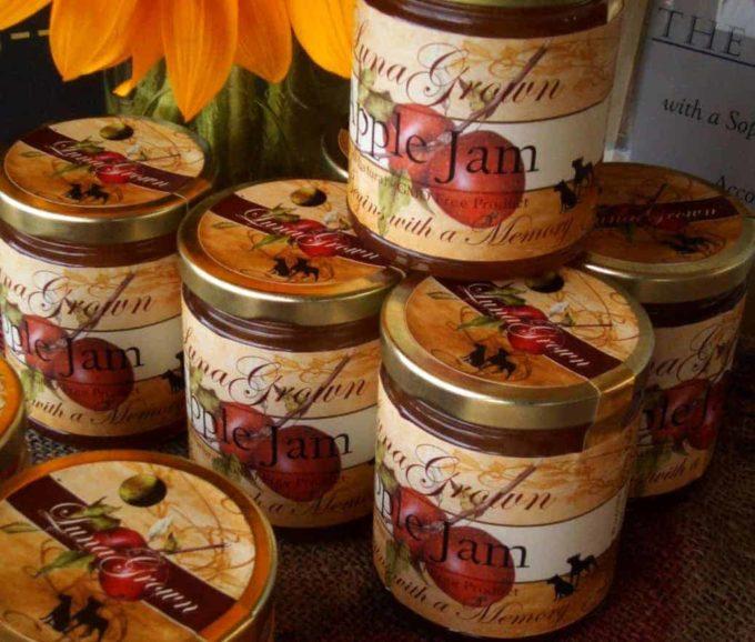LunaGrown Apple Jam