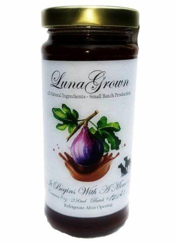 Chocolate Fig Jam LunaGrown