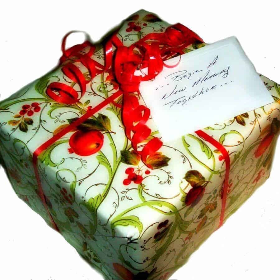 Gift for two wrap
