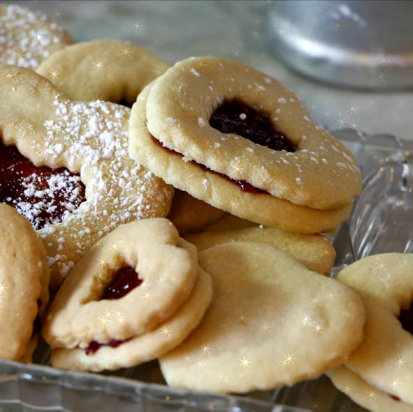 cookies filled with LunaGrown Jam