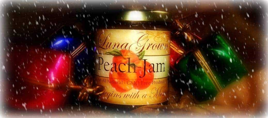 LunaGrown Holiday Peach Jam