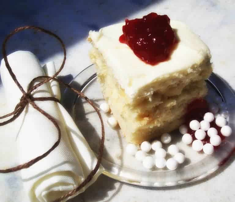 LunaGrown Jam Cake