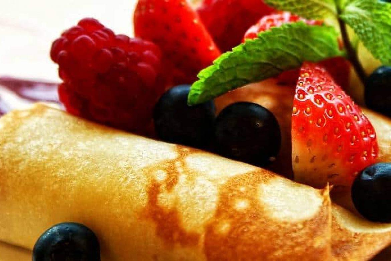 You'll Adore Jam Filled Dessert Crêpes a la LunaGrown