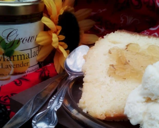 lemon cake from lunagrown