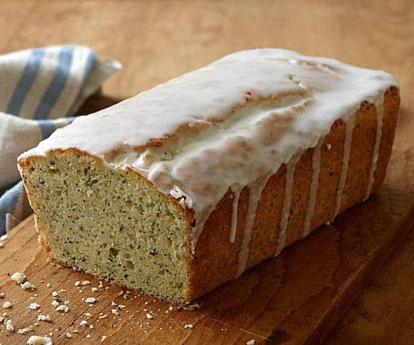 lemon lavender poundcake