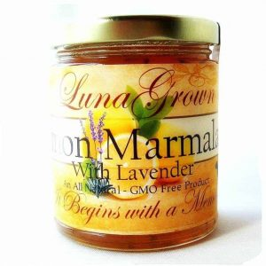 LunaGrown Lemon Lavender Marmalade